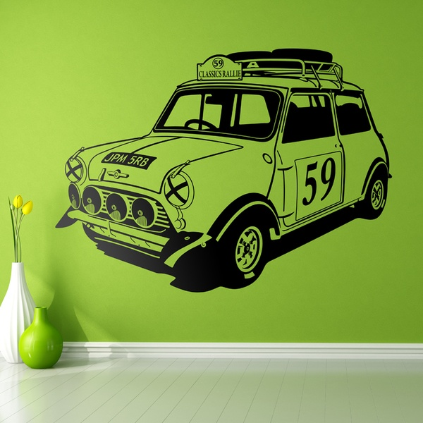 Wall Stickers: Mini Rally Classics 60