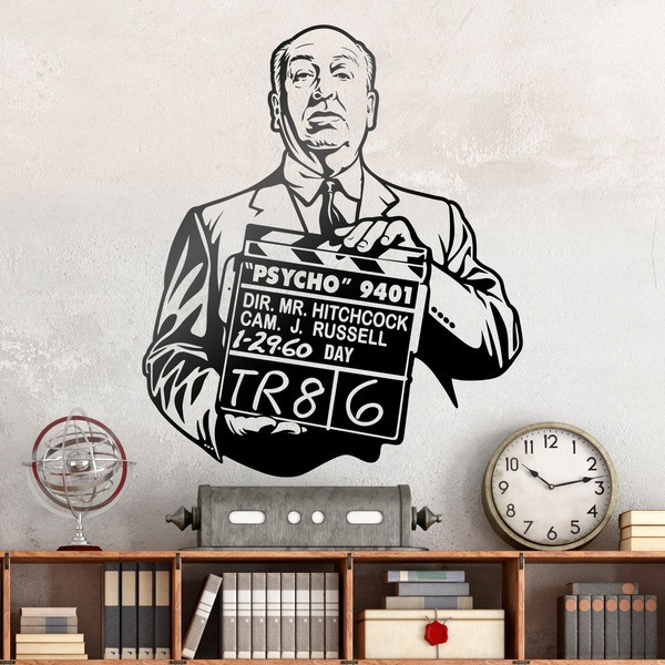 Wall Stickers: Alfred Hitchcock