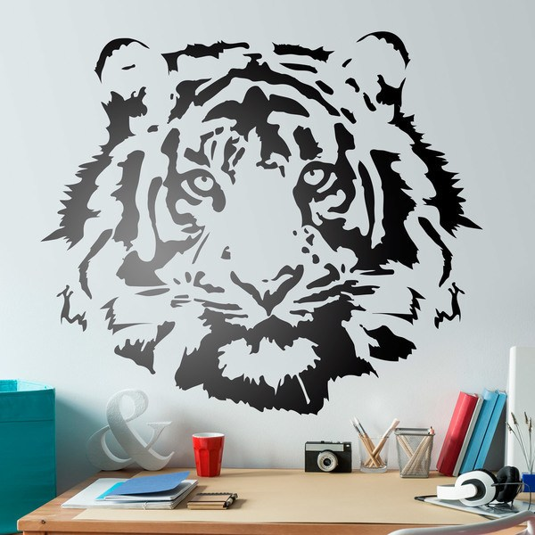 Wall Stickers: Tiger Face 0