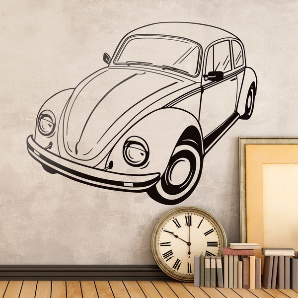 Wall Stickers: Volkswagen Beetle