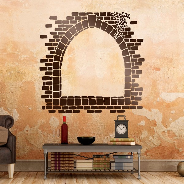 Wall Stickers: Stone window