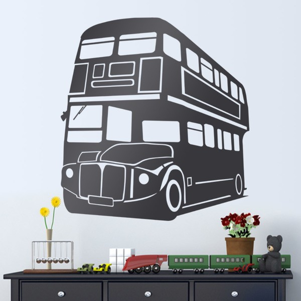 Wall stickers london bus
