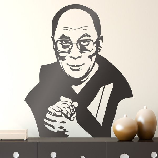 Wall Stickers: Dalai Lama