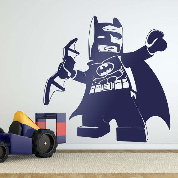 Stickers for Kids: Figure of Lego Batman
