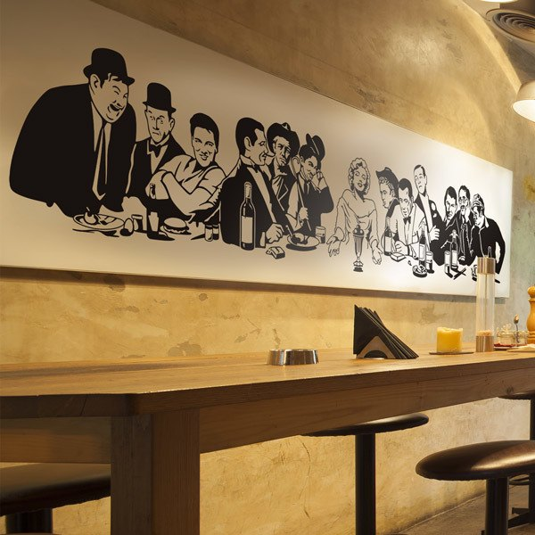 Wall Stickers: The Last Supper in Hollywood 0