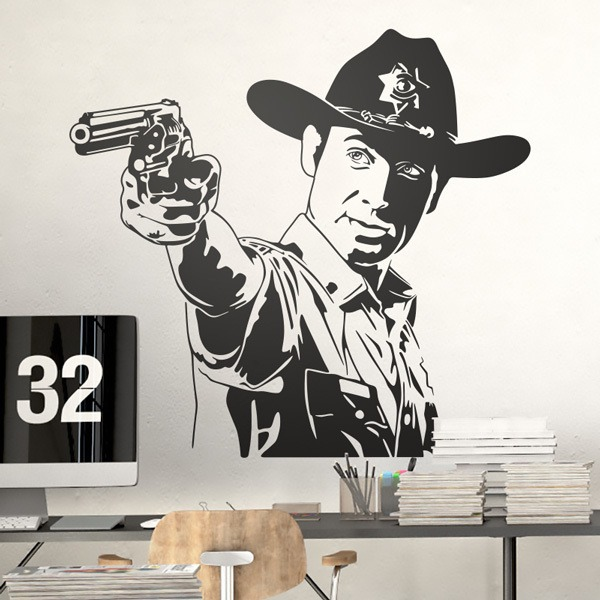 Wall Stickers: Rick Grimes