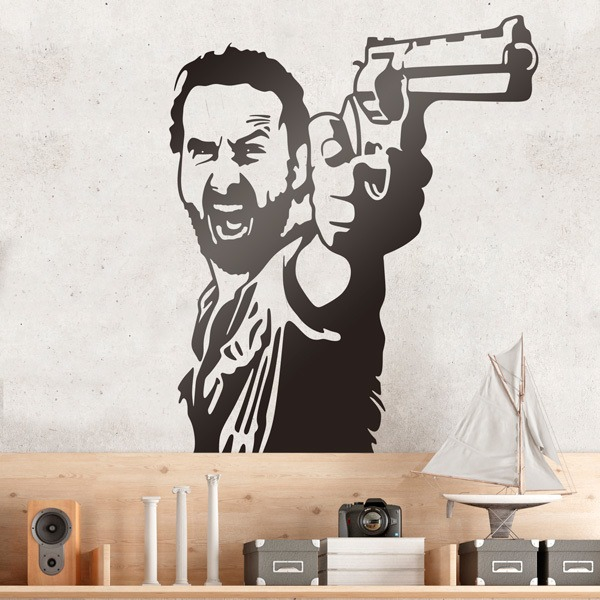 Wall Stickers: Rick Grimes TWD