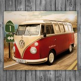 Wall Stickers: Volkswagen van California 3