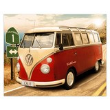 Wall Stickers: Volkswagen van California 4