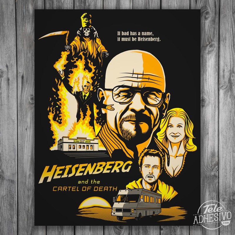 Wall Stickers: Adhesive poster Breaking Bad