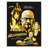 Wall Stickers: Adhesive poster Breaking Bad 4