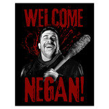 Wall Stickers: Adhesive poster Welcome Negan TWD 4