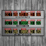 Wall Stickers: DeLorean Time Panel 3