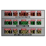 Wall Stickers: DeLorean Time Panel 4