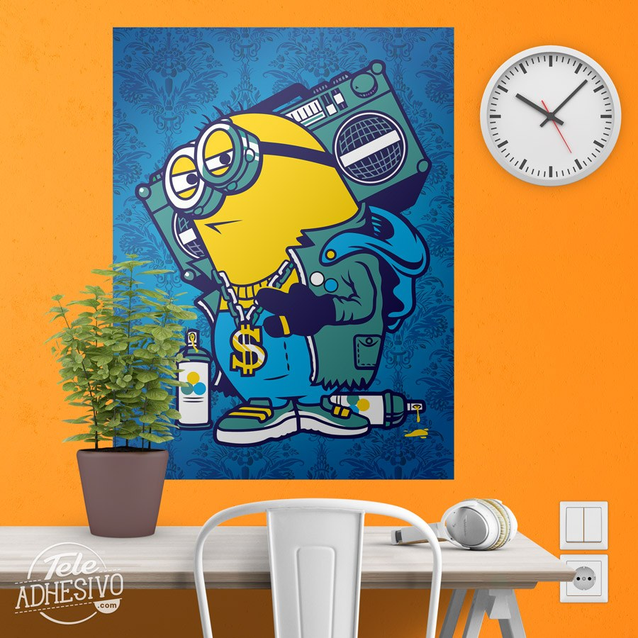 Graffiti wall sticker images home wall decoration ideas adhesive poster minion bomb box graffiti wall stickers adhesive poster minion bomb box graffiti amipublicfo images amipublicfo Gallery