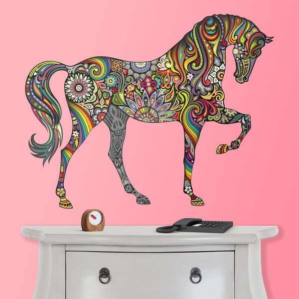 Wall Stickers: Hindu Horse