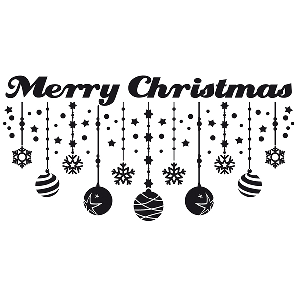 Wall Stickers: Merry Christmas
