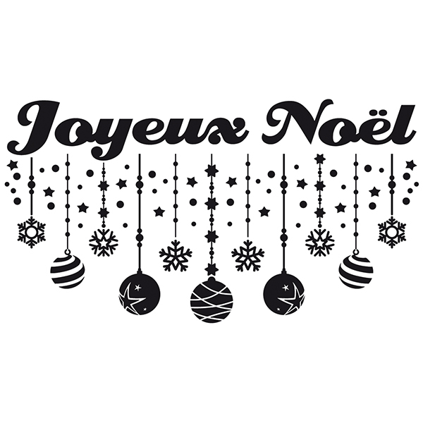 Wall Stickers: Joyeux Noël