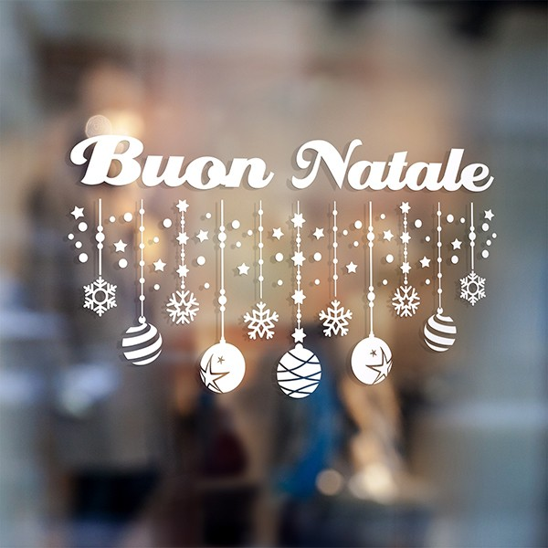 Wall Stickers: Buon Natale