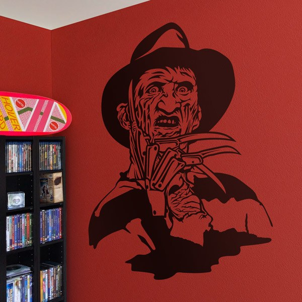 Wall Stickers: Freddy Krueger