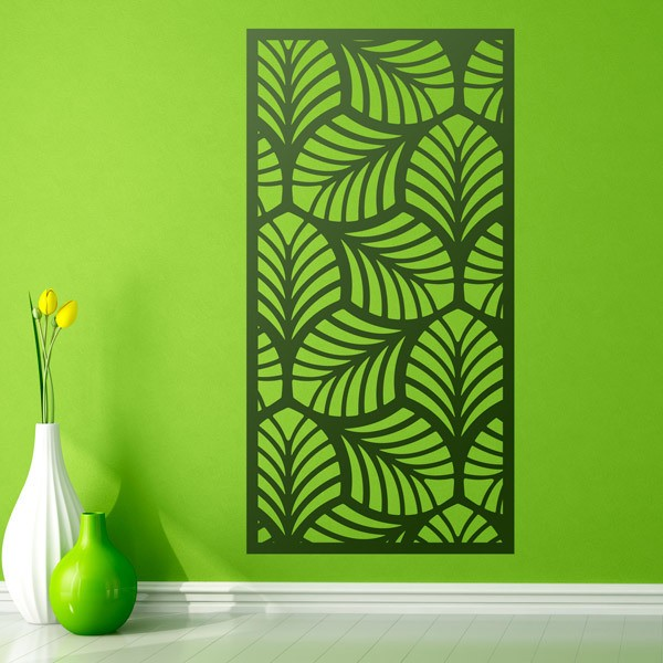 Wall Stickers: Leaf ornamental print sheet 1