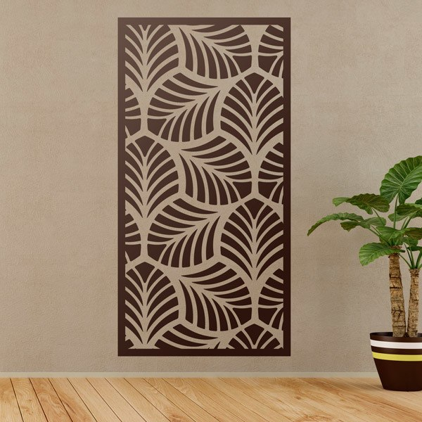 Wall Stickers: Leaf ornamental print sheet 2