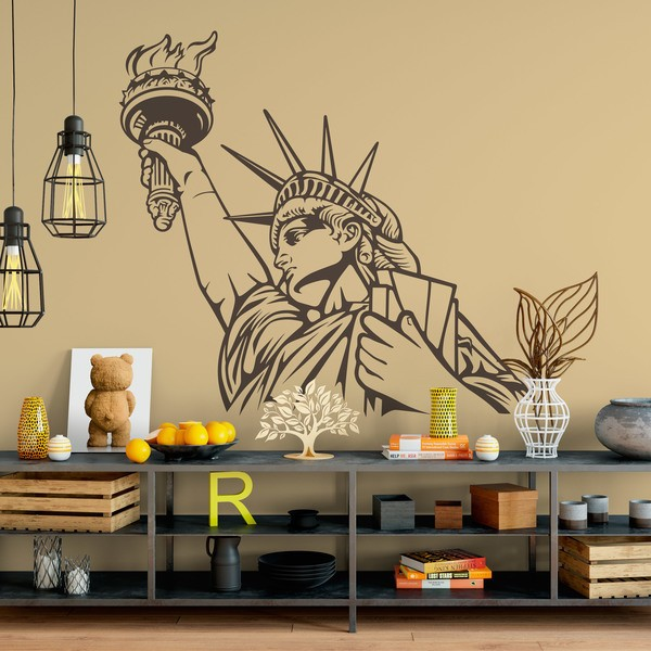Wall Stickers: Statue of Liberty 2