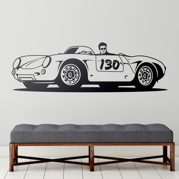Wall Stickers: Porsche 550 Spider Little Bastard