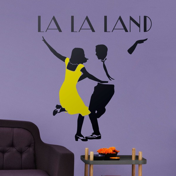 Wall Stickers: The La La Land logo