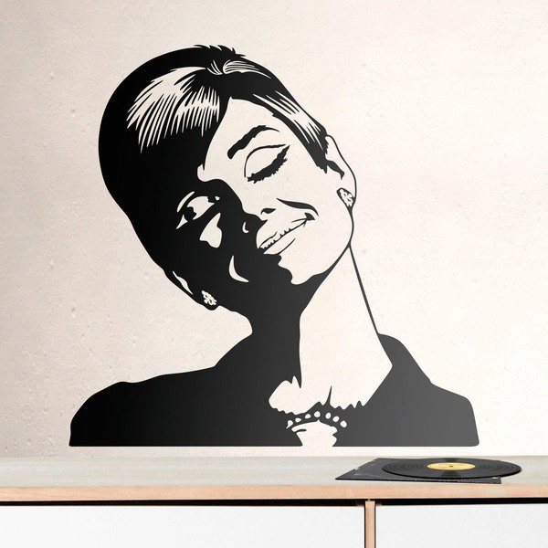 Wall Stickers: Audrey Hepburn dreams