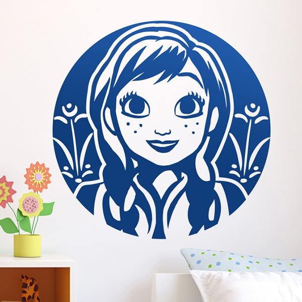 Stickers for Kids: Frozen, Princess Anna