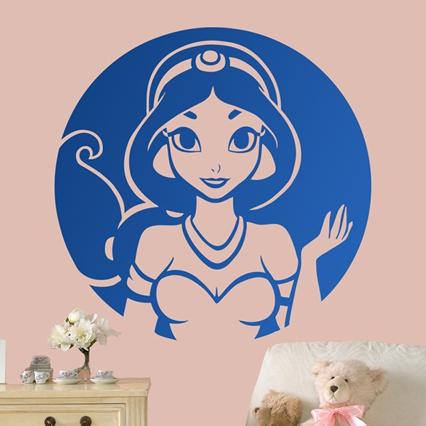 Stickers for Kids: Aladdin, Princesa Jasmine