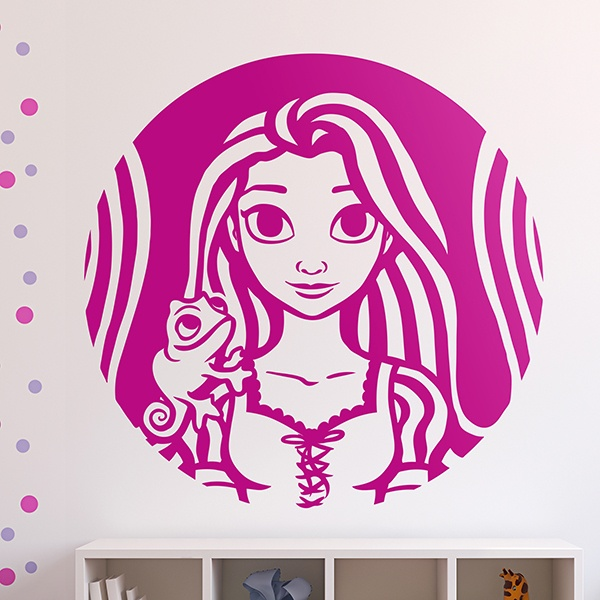 Stickers for Kids: Tangled, Princess Rapunzel