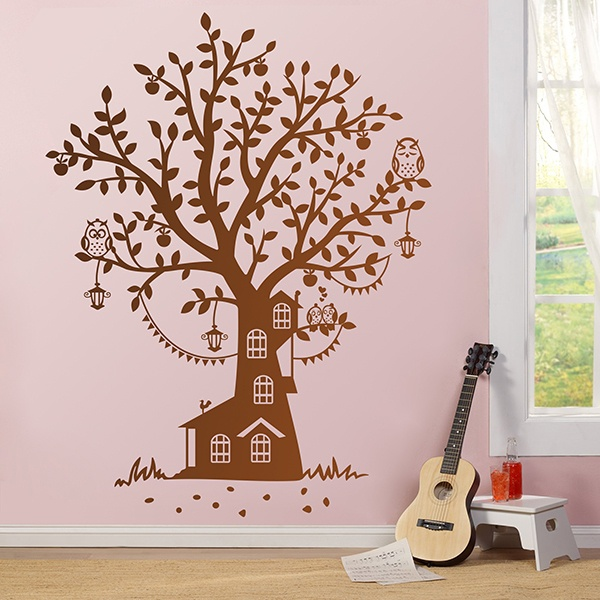 Stickers for Kids: Owl Tree Cottage