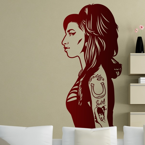 Wall Stickers: Amy Winehouse