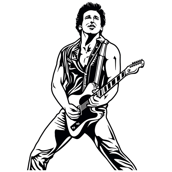 Wall Stickers: Bruce Springsteen