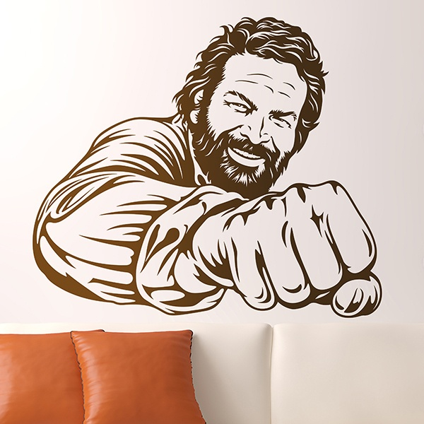 Wall Stickers: Bud Spencer