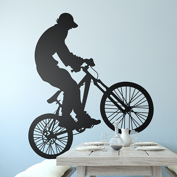 Wall Stickers: BMX