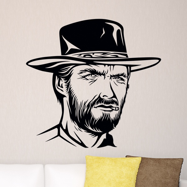 Wall Stickers: Clint Eastwood