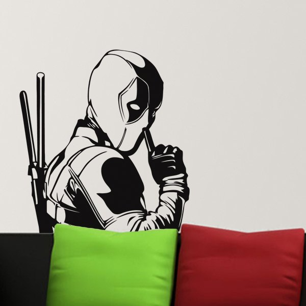 Wall Stickers: Dead Pool 0