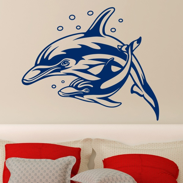 Wall Stickers: Dolphins