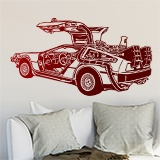 Wall Stickers: DeLorean 2