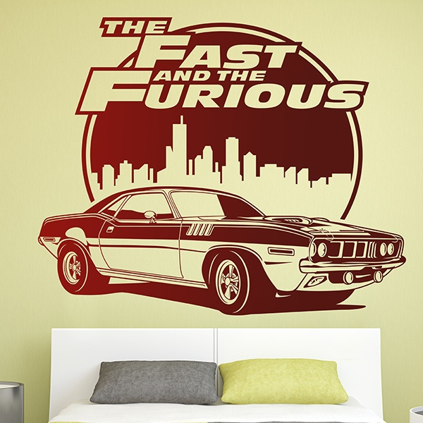Wall Stickers: The Fast and The Furious