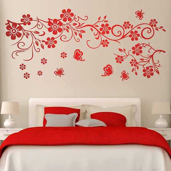 Wall Stickers: Great Floral of Cosmos