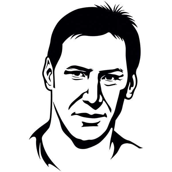 Wall Stickers: Keanu Reeves