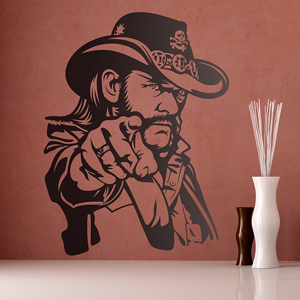 Wall Stickers: Lemmy