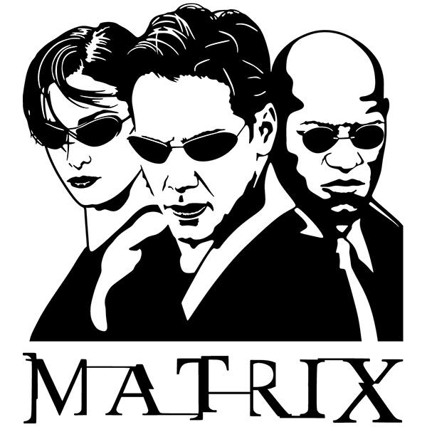 Wall Stickers: The Matrix