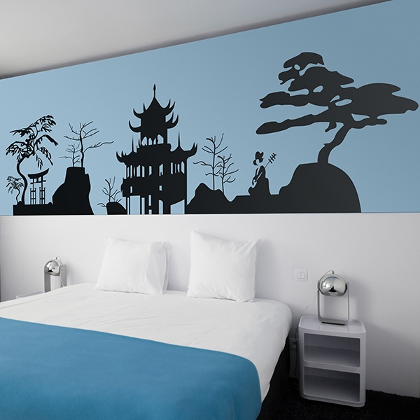 Wall Stickers: Skyline Japan