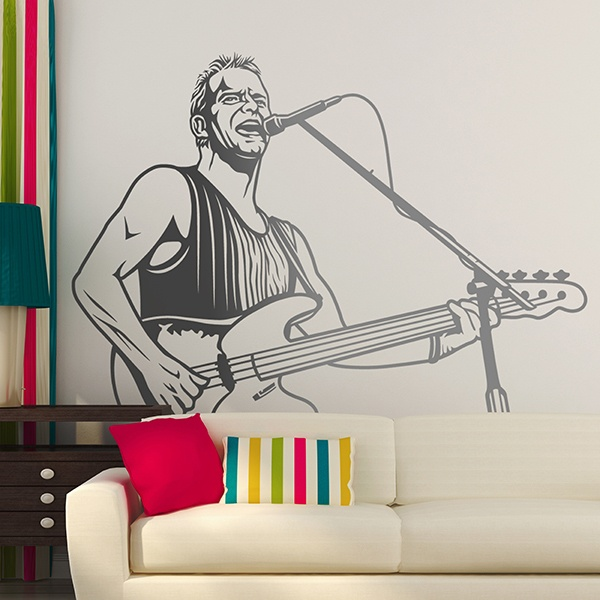 Wall Stickers: Sting 0