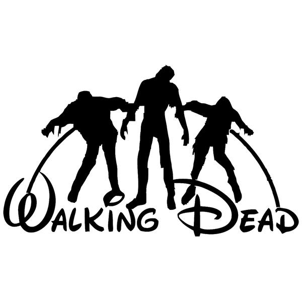 Wall Sticker Walking Dead Disney Muraldecal Com